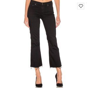 GRLFRND - Joan Crop Flare Jeans